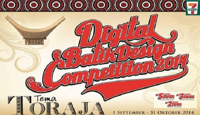 Kontes Digital Batik Design dari 7Eleven