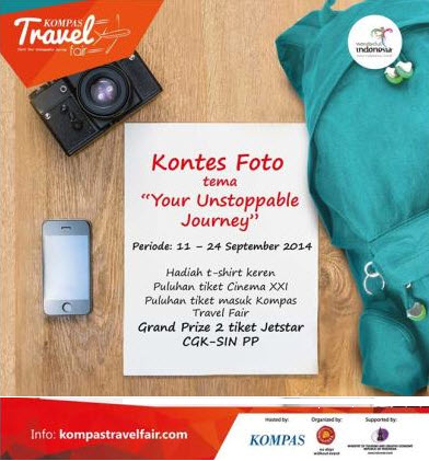 "Lomba Foto Kompas ""Your Unstoppable Journey"" 2014"