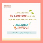 Kontes Blog Kejutan Shopious