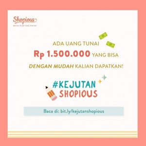 kejutan shopious