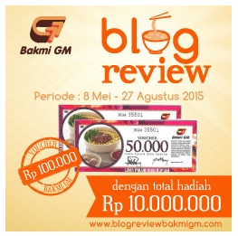 Blog Review Bakmi GM