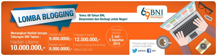 Lomba Blogging BNI