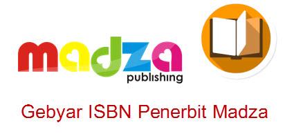 Gebyar ISBN Penerbit Madza