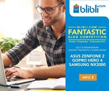 Blibli.com Fantastic Blog Competition 2015