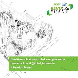 Revolusi Ruang bersama Acer Indonesia dan dapatkan hadiah senilai 20 juta