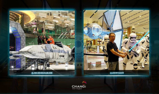 Foto Star Wars Changi Facebook Photo Contest