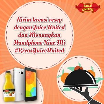 Kontes Kreasi Resep dengan Juice United