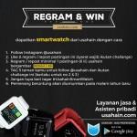 Kontes Regram Usahain.com dan Menangkan SmartWatch