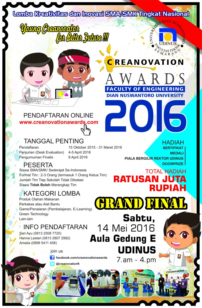 Creanovation Awards 2016