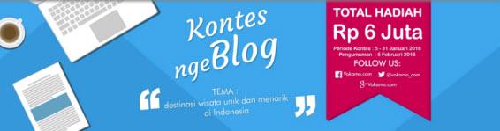 Kontes Ngeblog Vokamo Berhadiah Voucher Senilai 6 Juta