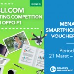 Blibli.com Creative Writing Competition with OPPO F1