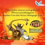 Photo Contest Madagascar Hadiah 2 Tiket Nonton Gratis