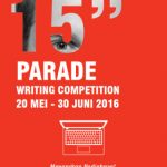 Asus 15″ Parade Writing Competition Berhadiah Notebook