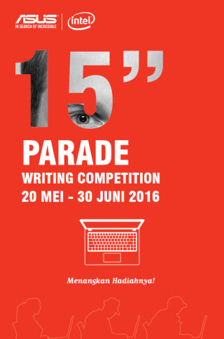 Asus 15 Inch Parade Writing Competition
