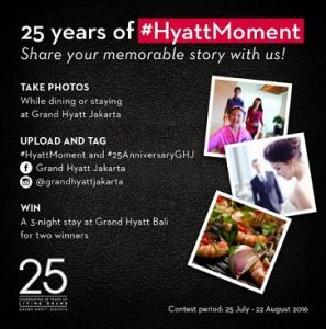 25 years of #HyattMoment