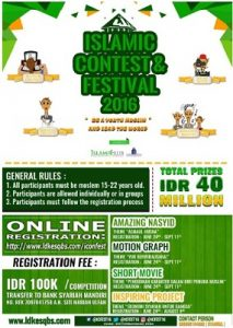 banner Islamic Contest and Festival 2016