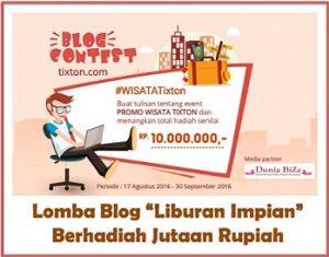 banner blog contest tixton com