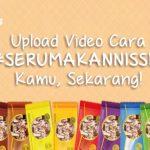 Video Challenge #SeruMakanNissin, Hadiah Gagdet Keren