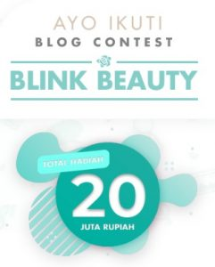 Banner blog contest Blink Beauty